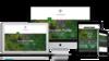 Logos polymorphic pour site internet et supports numériques