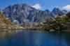 Le charmant cadre des lacs Fremamorta