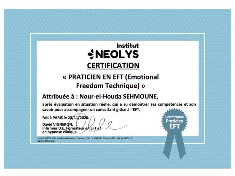 certification_praticien_eft_nour-el-houda_sehmoune