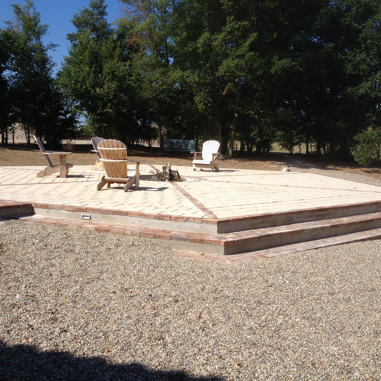 Construction de terrasse traditionnelle