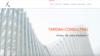 tardan consulting exemple creer site internet consultant