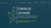 camille levade exemple site internet dieteticien