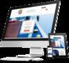 mockup créer site internet praticiens feng shui