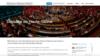 Exemple députée création site internet politique
