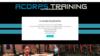 training exemple créer site internet coach sportif
