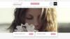 Exemple site internet institut de beauté Naturellement Belle
