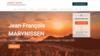 exemple site internet de psychotherapeute hypnotherapeute jean françois marynissen