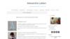 exemple site internet osteopathe alexandre lallart