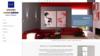 Rouge exemple création site internet de peintre