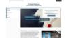 Bleu exemple création site internet peintre