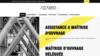 image site internet assistance maitrise d'ouvrage adamo
