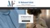image site internet pédiatre mohamed fattah