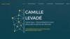 Image site web camille levade psychologue par Simplébo