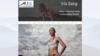 exemple site internet coach sportif Iris Sarg