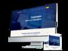 Mockup de création de site web professionnel avec Simplébo