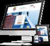 mock up creation site internet magnetiseur par simplebo