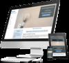mock up creation site internet electricien par simplebo