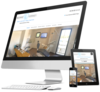 mock up site internet cree par simplebo