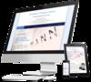 mock up ordinateur site internet chirurgien orthopedique