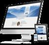 mock up ordinateur site internet orthoptiste par simplébo