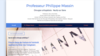 exemple site internet chirurgien orthopédiste philippe massin