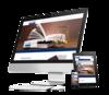mock up ordinateur site internet avocat par simplébo