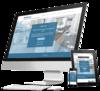 mockup site internet architecte d'intérieur par simplébo