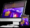 mock up site internet institut de beauté par Simplébo