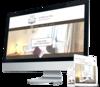 mock up site internet chambres d'hôtes par Simplébo