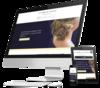 mock up site internet de coiffeur créé par Simplébo