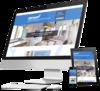 mock up site internet de services à la personne par Simplébo