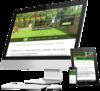 mock up site internet paysagiste jardinier par simplebo