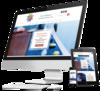 mock up site internet reflexologue par simplebo