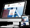mock up site internet pour les praticiens reiki par simplebo