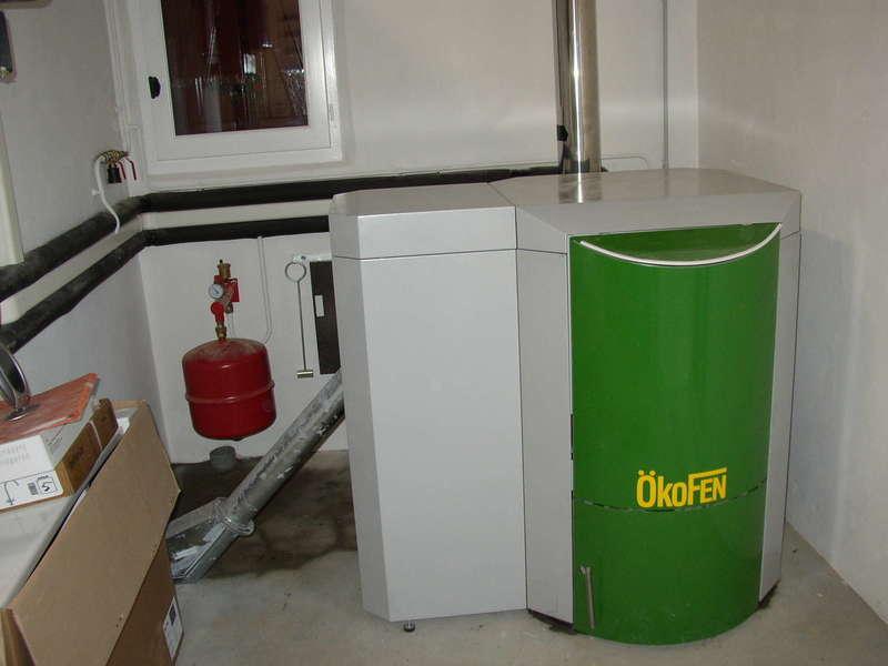 SOURAIDE, novembre 2011. Dans cette rénovation, nous avons installés une chaudière OKOFEN de 20 KW.