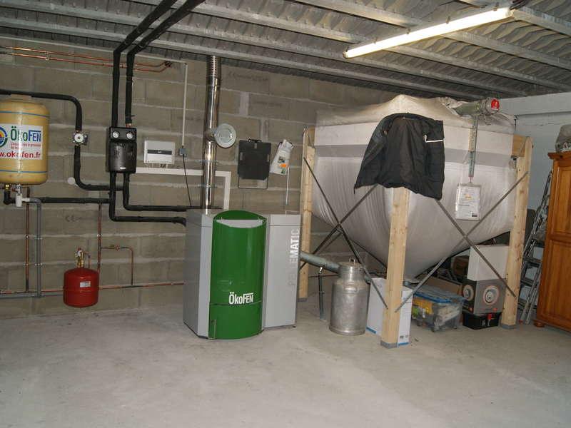 URRUGNE, quartier Socoa. Juillet 2014. Dans cette rénovation, nous avons installés une chaudière OKOFEN de 8 KW.