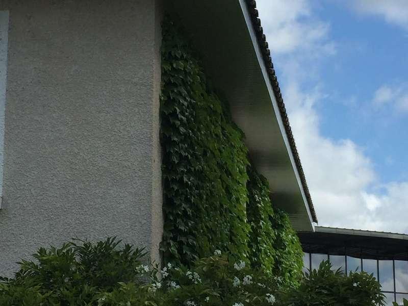 Avant toit PVC blanc