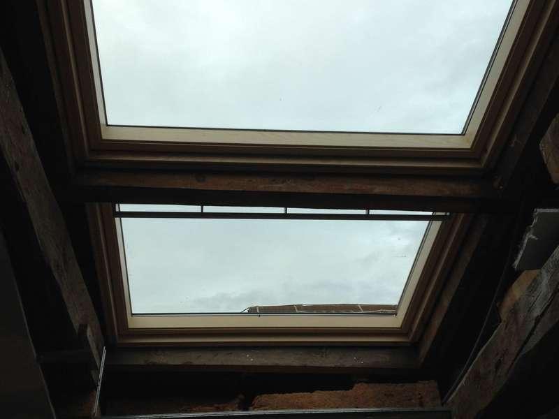Fenêtre de toit Vélux duo