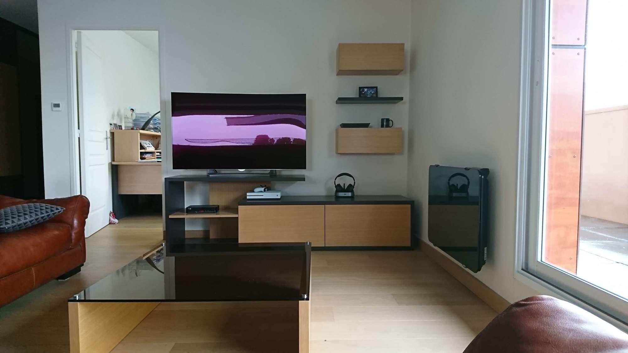 Home Staging Meuble Tv aménagement intérieur à saumur (49400)