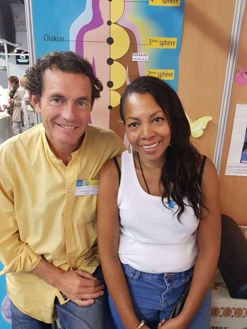 Pascal Legrand et moi confrere Energiologue