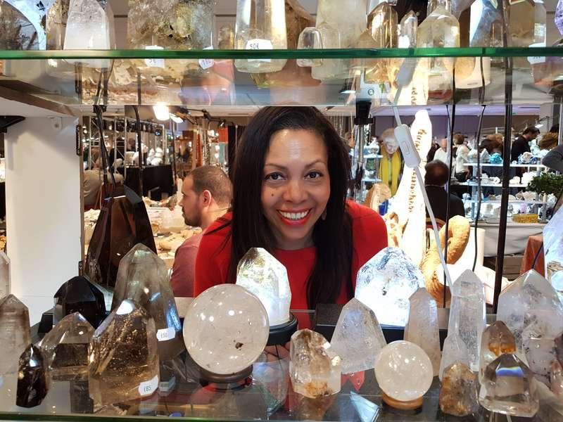Salon des cristaux à Paris