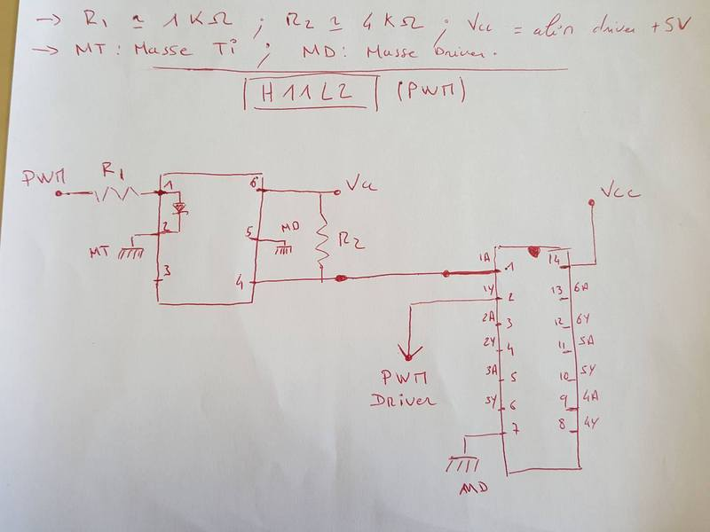 We integrate optocouplers in our circuits