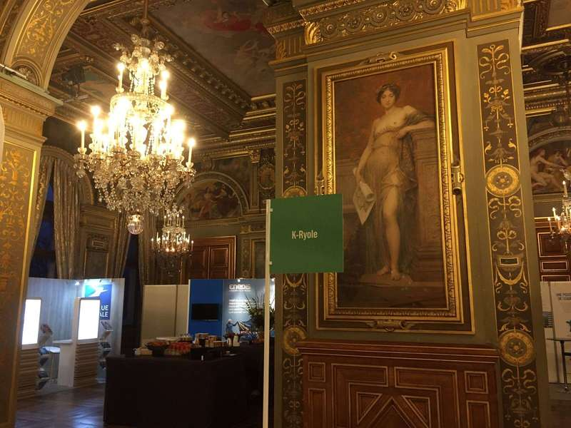 K-Ryole picked-up by French newspaper La Tribune to participate to Cities for Life summit at Paris city hall