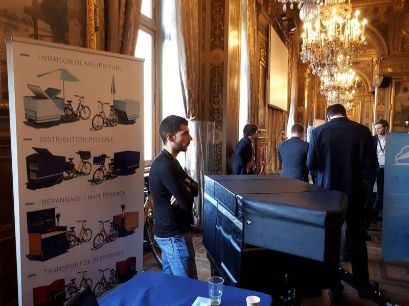 """Hacking de l'Hotel de Ville de Paris"" about Paris 2024 OG"
