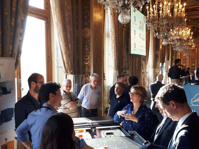 And we meet nice people: Marie-Hélène Borie, Director of Paris Heritage and Architecture