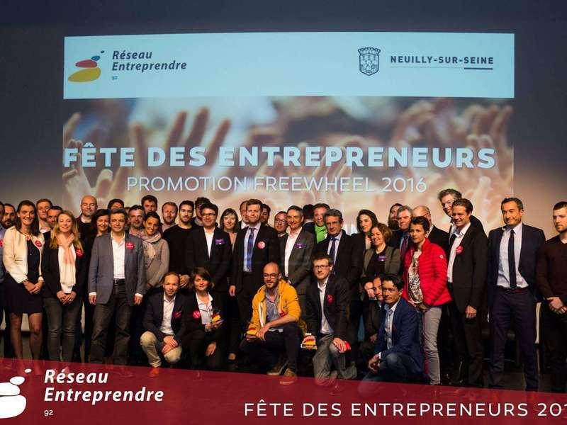 """Réseau Entreprendre 92 """"Coup de coeur"""" prize for K-Ryole, awarded by Auchan Retail"""