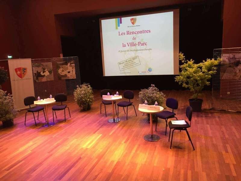 """Rencontres de la Ville Parc"" at Chatenay-Malabry: Gilles is one of the speakers"