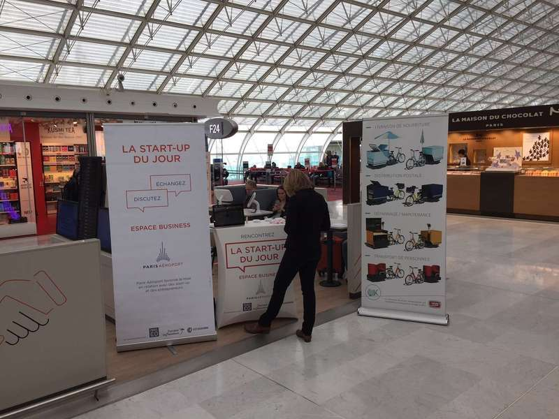 Startup of the day at Roissy-CDG airport