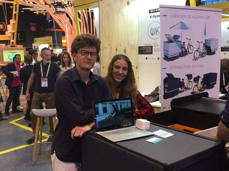 Three intense days at VivaTechnology! Théo and Bertille, our college intern, more than ready
