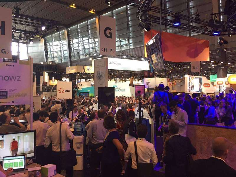 Three intense days at VivaTechnology! Emmanuel Macron visiting the show